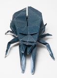 origami жука ручной работы Стоковые Изображения RF