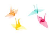 origami крана Стоковое Изображение