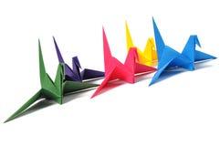 origami крана стоковое изображение rf