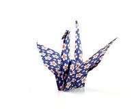 origami птицы сложенное краном Стоковые Фото