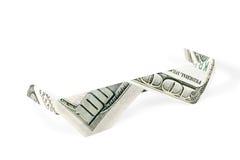 Origami стекел сделанное из денег Стоковые Фото