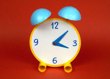 Origami. A clock made with paper,origami Stock Images
