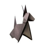 Origami Royalty Free Stock Photo