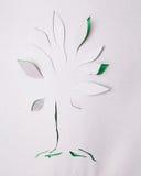 Origami树 库存图片