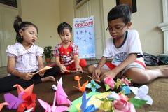 Origami Fotografia Stock