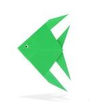 Origami鱼 免版税库存图片