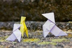 Origami Zdjęcia Royalty Free