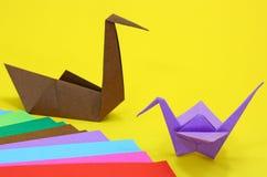 Origami Imagens de Stock