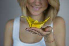 Origami stock fotografie