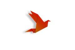 Origami鸟 皇族释放例证