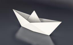 Origami, βάρκα εγγράφου Στοκ φωτογραφία με δικαίωμα ελεύθερης χρήσης
