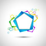 Origami Abstract Background Stock Photography
