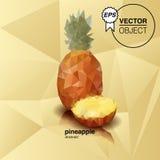 Origami ananas arkivfoto