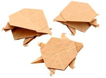 Origami animal Stock Images