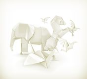 Origami animals Royalty Free Stock Image