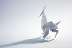 Origami antylopa Fotografia Royalty Free
