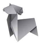 Origami Aries Royalty Free Stock Photos
