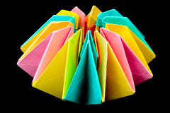 Origami art Stock Images