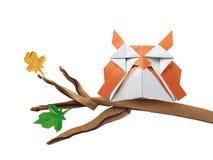 Origami art owl Stock Photography