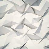 Origami astratti del fondo Fotografie Stock Libere da Diritti