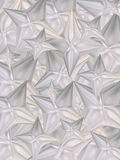 Origami background. Origami texture made of folded stars Stock Photos
