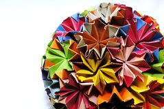 Origami ball Royalty Free Stock Photo