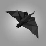 Origami bat Stock Images