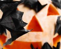 Origami bats Stock Photos