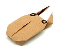 Origami beetle Stock Images