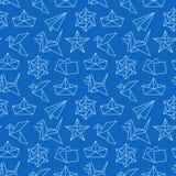 Origami bezszwowy wz ilustracji