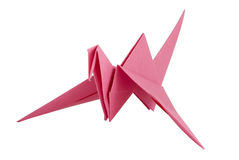 Origami bird Royalty Free Stock Image