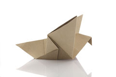 Origami bird Stock Photos