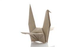 Origami bird Royalty Free Stock Photography