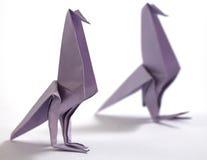 Origami bird Royalty Free Stock Image