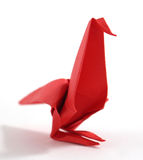 Origami bird Royalty Free Stock Photo