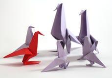 Origami bird Royalty Free Stock Photo