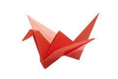 Origami bird paper Royalty Free Stock Photos