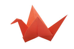 Origami bird paper Stock Images