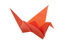 Origami bird Stock Images