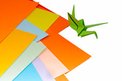 Origami birds Stock Photos