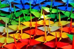 Origami birds Royalty Free Stock Photography