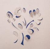 Origami blomma Arkivbilder