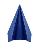 Origami blue paper planes Royalty Free Stock Photography