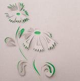 Origami Blume Lizenzfreies Stockbild