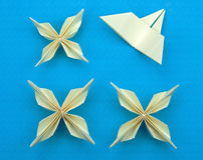 Origami Blumen Lizenzfreies Stockbild