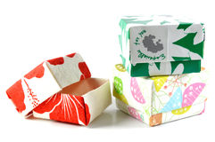Origami box Stock Images
