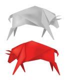 Origami_bull 库存图片