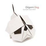 Origami bulldog Stock Image