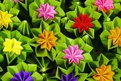 Origami bunch Stock Photos