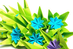 Origami bunch Royalty Free Stock Photos